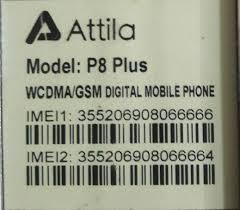 دانلود فایل فلش گوشی Attila P8 MAX با پردازنده MT6572