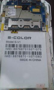 "<span itemprop=""name"">دانلود رام گوشی S COLOR S V1 با پردازنده مدیاتک MT6572</span>"