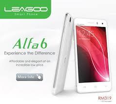 دانلود فایل فلش گوشی LEAGOO Alfa 6 با پردازنده MT6582