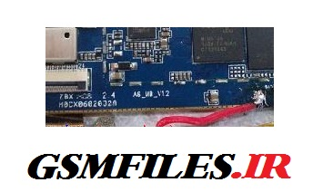 فایل فلش تبلت چینی با مشخصات a6-mb-v1.2 مدل پردازنده MT6572