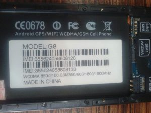 دانلود فایل فلش رسمی و فارسی YBZ G8 با پردازنده MT6580