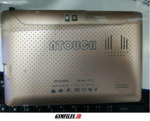فایل فلش تبلت چینی ATOUCH Q12 با پردازنده مدیاتک 6577