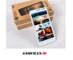 دانلود فایل فلش فارسی و شرکتی گوشی چینی Gfive A800