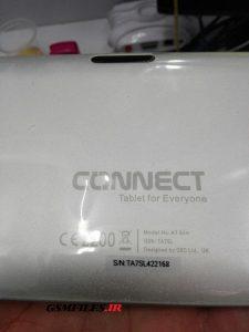 فایل فلش تبلت چینی CONNECT A7 SLIM با پردازنده راک چیپ RK2926