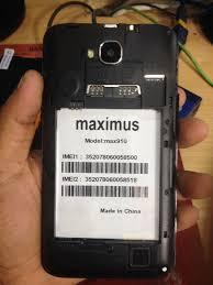 دانلود فایل فلش گوشی چینی Maximus MAX 910 با پردازنده MT6572