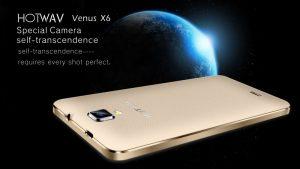 دانلود رام رسمی و فارسی HOTWAV Venus X6 با پردازنده MT6572