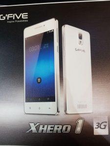دانلود رام فارسی گوشی GFIVE President Xhero 1 با پردازنده MT6572