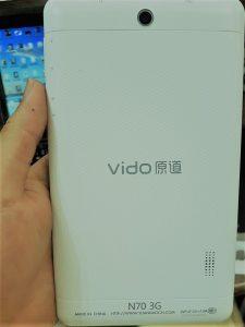 دانلود رام نایاب تبلت Vido N70 3G با پردازنده MT6572 فول فارسی