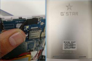 دانلود رام رسمی و شرکتی تبلت G'STAR G785 با مشخصه بردK0712B-V3.6