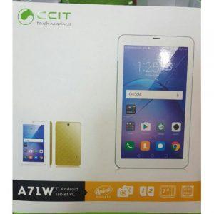 دانلود رام رسمی و فارسی تبلت CCIT A71W با پردازنده MT6572