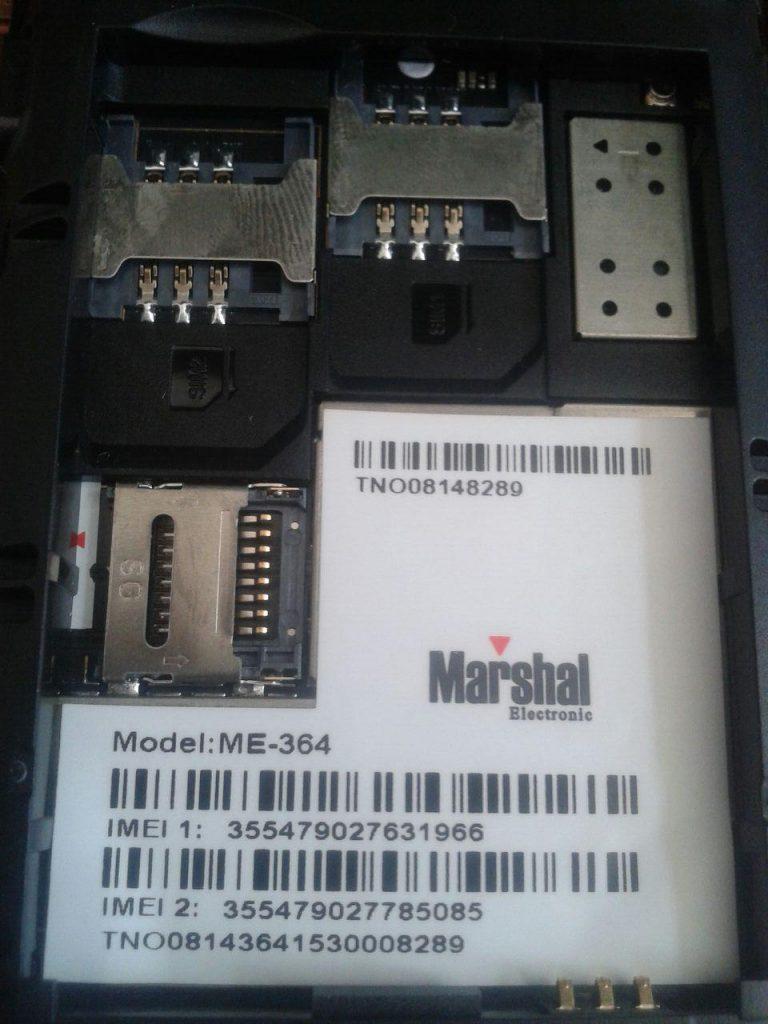 دانلود رام رسمی گوشی Marshal ME-364 با پردازنده MT6572
