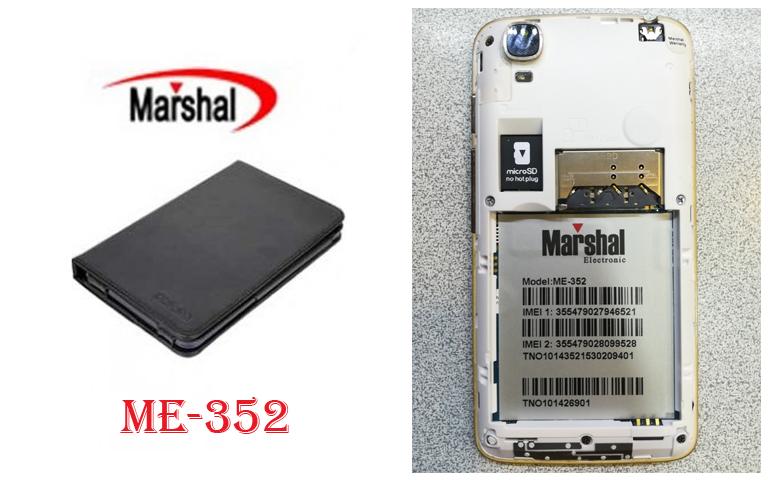 دانلود فایل فلش Marshal ME-352 با پردازنده مدیاتک MT6572